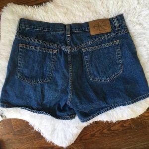 Vintage Calvin Klein Jeans Mom Shorts